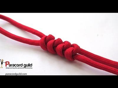 2 strand wall knot