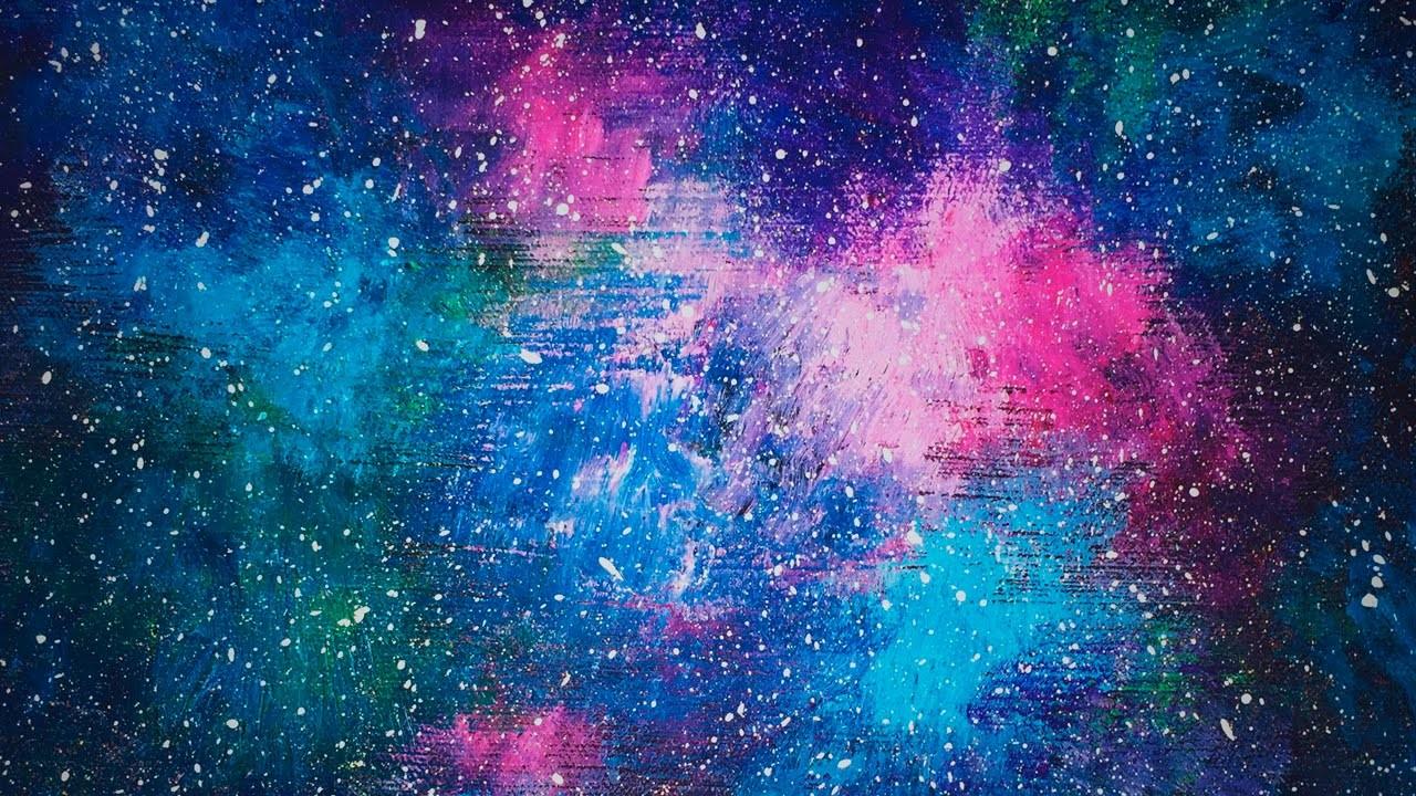Acrylic Speed Painting | Galaxy V