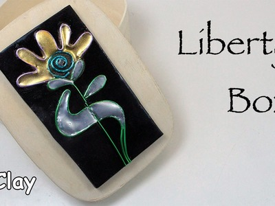 Box liberty style - Metal finishing with hot glue and powder