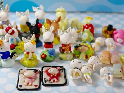 Charm Update #23: Bunnies, Shappo Cards and Kawaii Objects