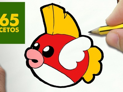 COMO DIBUJAR CHEEP CHEEP KAWAII PASO A PASO - Dibujos kawaii faciles - How to draw a CHEEP CHEEP