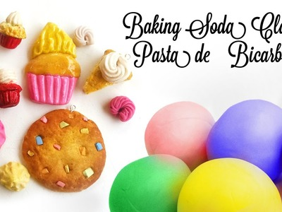 Como hacer Pasta de Bicarbonato Para modelar figuritas | How to make Baking Soda Air Dry Clay  ♥