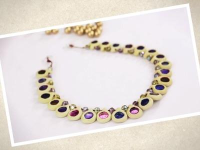 Create A Pretty Necklace Using Shilpkar!