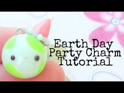 Earth Day Kawaii Charm | Polymer Clay Tutorial