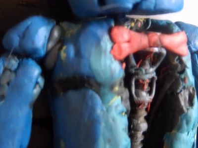 Five Nights At Freddy's 4 Nightmare Bonnie #5 Clay Figure