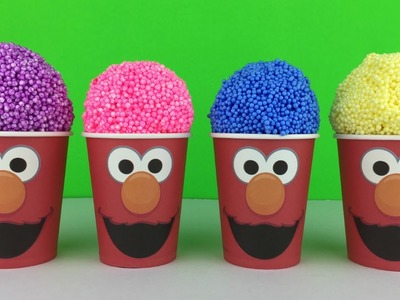 Foam Clay Elmo Surprise Ice Cream Cone by YL Toys Collection