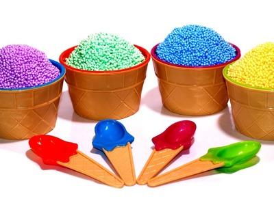 FOAM CLAY SURPRISE Ice Cream Rio Captain America Sofia Toys