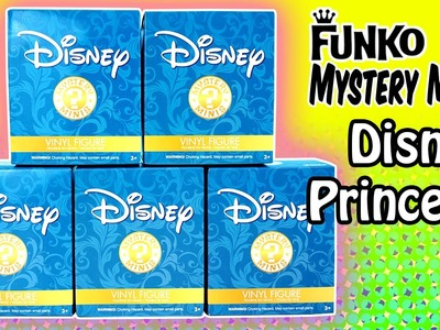 Funko Mystery Minis Surprise Blind Boxes of Disney Princess - Hot Topic Exclusive!!