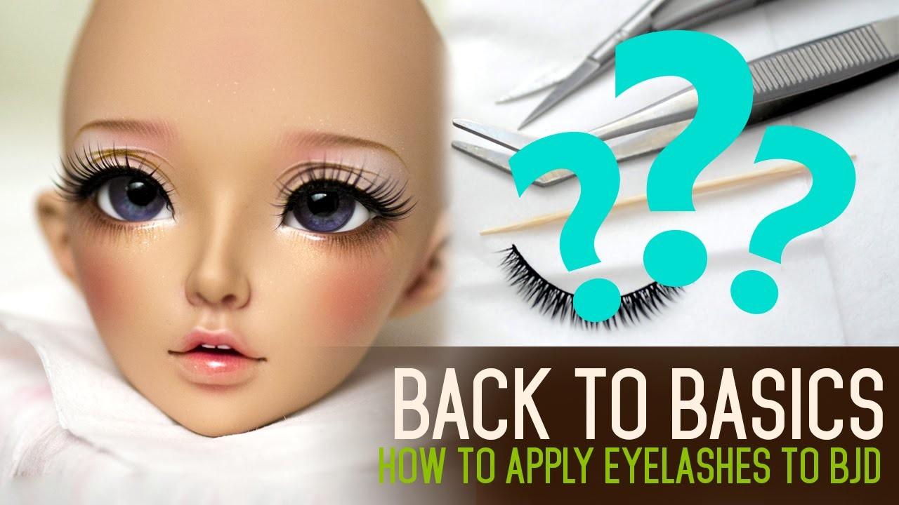 How to apply eyelashes - Back to Basics ep02