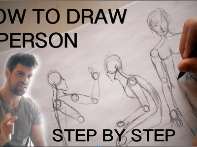 How to Draw a Person Step by Step for Beginners