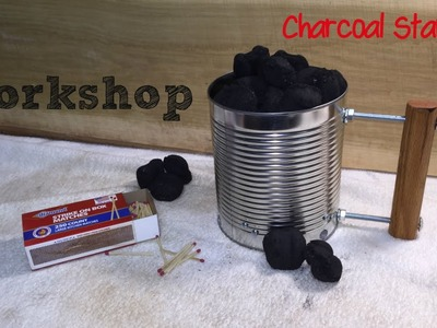 How to Make a Chimney Charcoal Starter