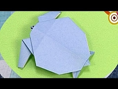 How to make a Paper Turtle (Tutorial) - Paper Friends 10 | Origami for Kids