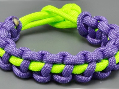 How to make a Thin Solomon Bar paracord bracelet