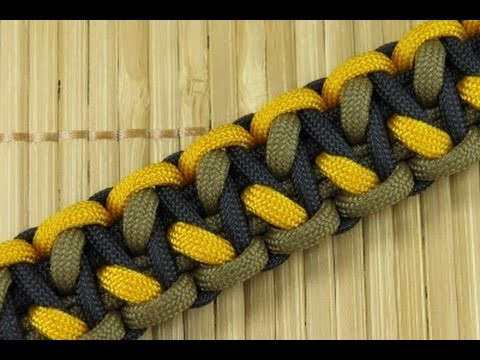 How to Make an Off-Set Morse Code Bar Paracord Bracelet