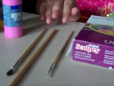 How to make cupcakes, donuts, & other things out of clay!