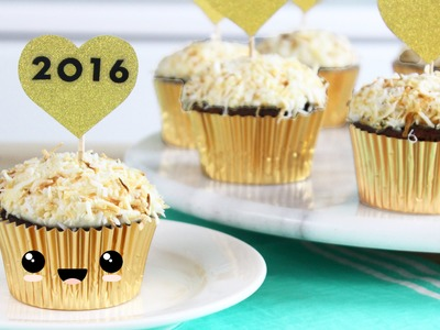 How to Make New Year's Eve Cupcakes!