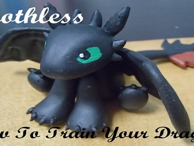 How to make: Toothless from How To Train Your Dragon