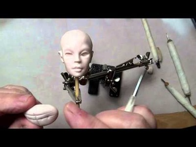 How to mark out the eyes for my ball jointed doll bjd
