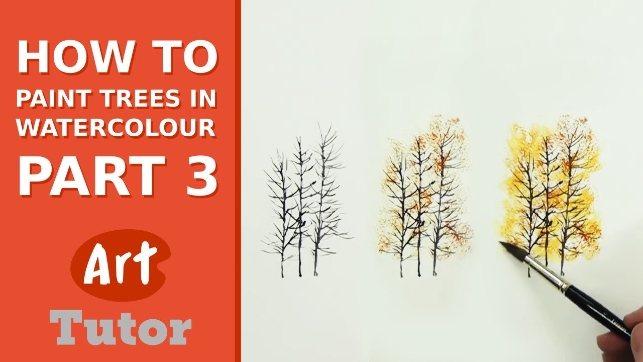 How to Paint Trees in Watercolour - Part 3