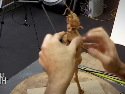 HOW TO SCULPT A CREATURE CORE MONSTER - MONSTER MONTH - DAY 13