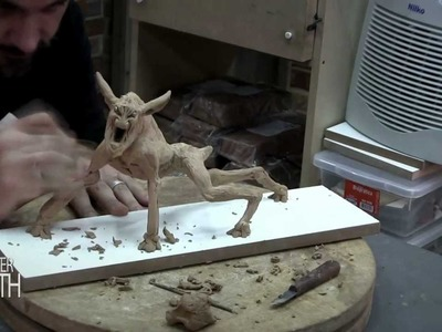 HOW TO SCULPT A GHOSTBUSTERS INSPIRED TERROR DOG MONSTER - MONSTER MONTH - DAY 14