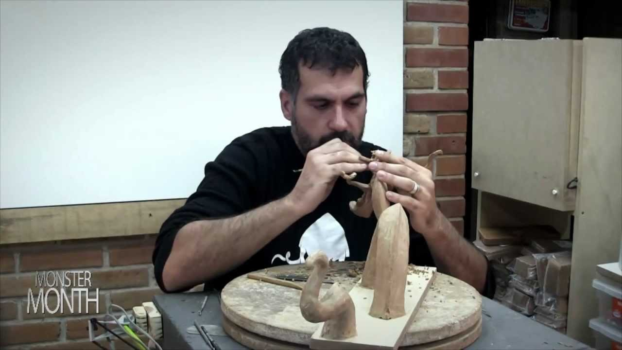 HOW TO SCULPT POSEIDON RIDDING ON TOP OF HIS SEA SERPENT - MONSTER MONTH - DAY 7