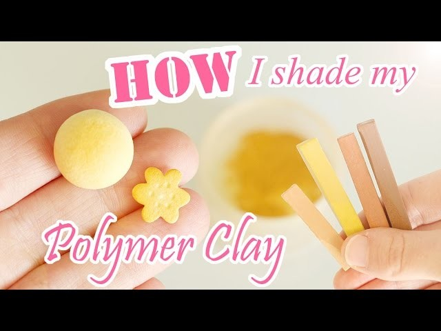 How to Shade Polymer Clay Cakes and Desserts