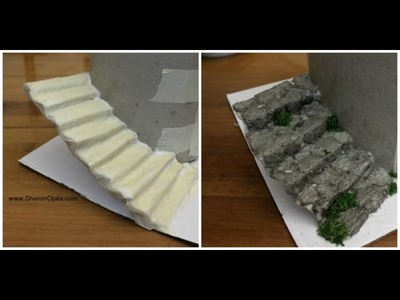 How To Stairs  Dollhouse
