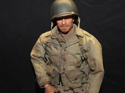 How To Weather a 1:6 Figure WWII