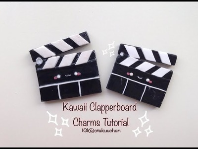 Kawaii Clapperboard Charms Tutorial
