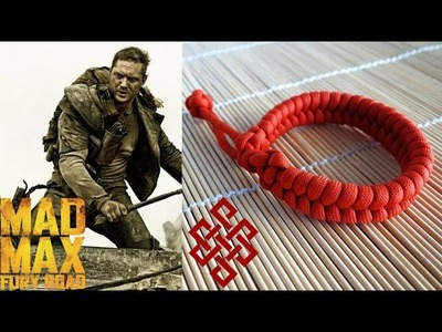 Mad Max Fishtail Paracord Bracelet Tutorial