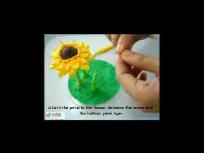 Making a garden - using modelling clay