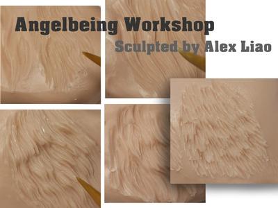 Making figurine hair animal fur video tutorial part 2