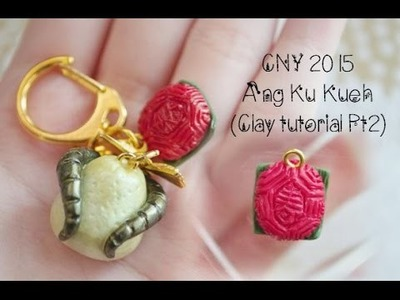 Miniature Ang Ku Kueh {Clay Tutorial}