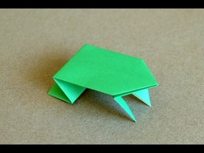 Origami Jumping Frog Instructions: www.Origami-Fun.com