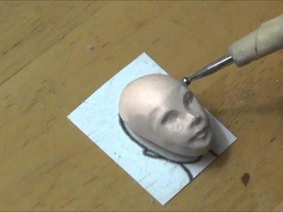 Part 1 commission progress in work head
