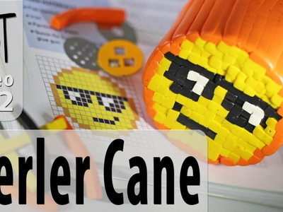 Polymer Clay Cane Designs From Perler Bead Patterns