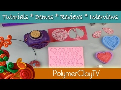 Polymer Clay Valentines Gift Ideas on Polymer Clay TV