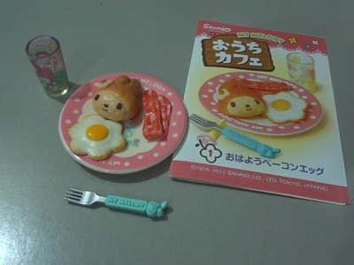 """Re-Ment """"My Melody Coffee Shop Cafe"""" unboxing"""