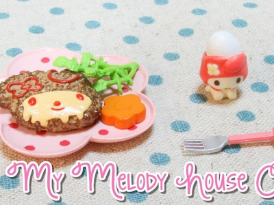 Re-Ment Unboxing: My Melody House Cafe #2