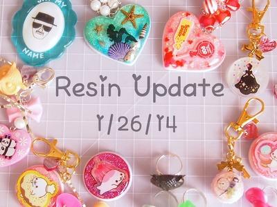 Resin Update: 1.26.14
