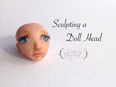 Sculpting a Doll Head, How to Sculpt a Face out of Clay
