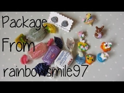 Stunning Package From RainbowSmile97!!!