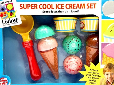 Super Cool Ice Cream Set Toys Play Doh Ice Cream Parlor Toy Food Heladería Helados