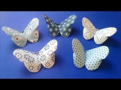 SUPER SIMPLE origami or kirigami BUTTERFLY
