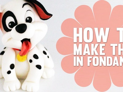 Super Speed Video - How to make a cute Dalmatian Puppy