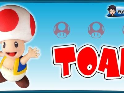 Toad (Mario) - Polymer Clay TUTORIAL (Fimo)