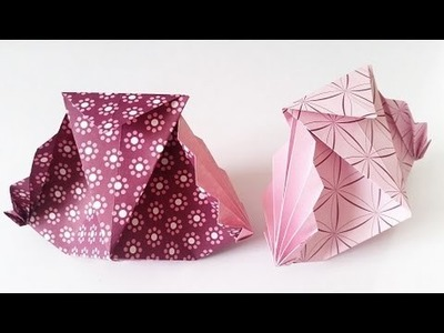 Unique ORIGAMI gift PACKET