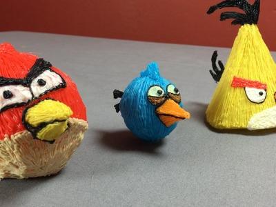 Angry Birds 3D Pen Art! (Scribbler)