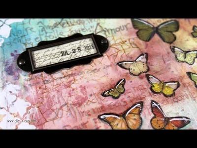 Art Journal Layout: Change